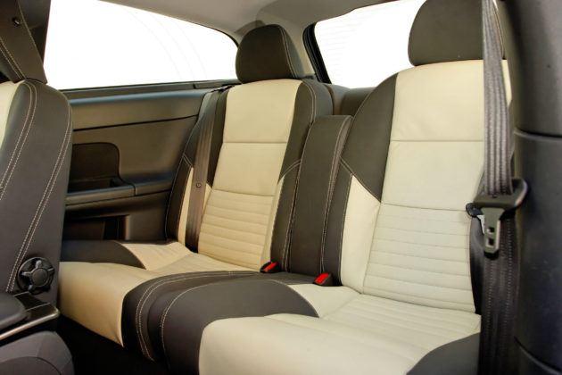 Volvo C30 - tylna kanapa