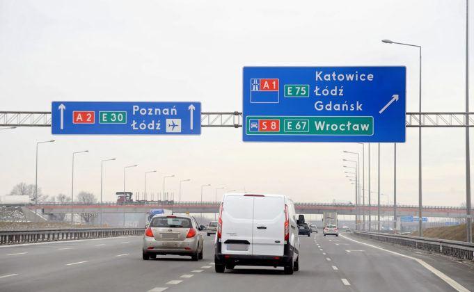 Zmiana autostrady