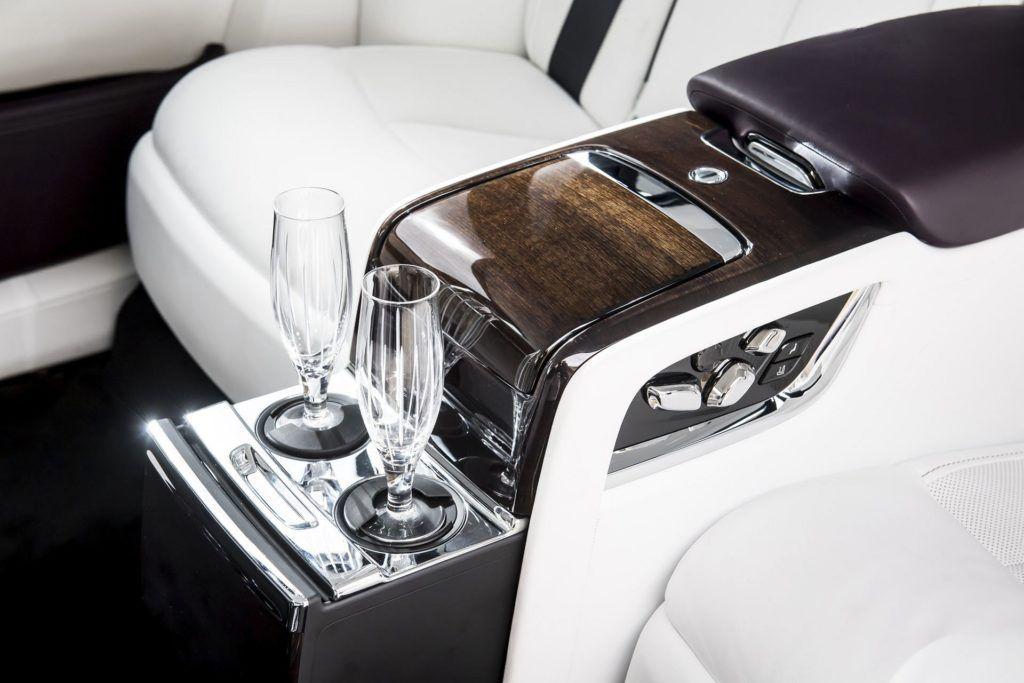 Rolls-Royce - kieliszki do szampana