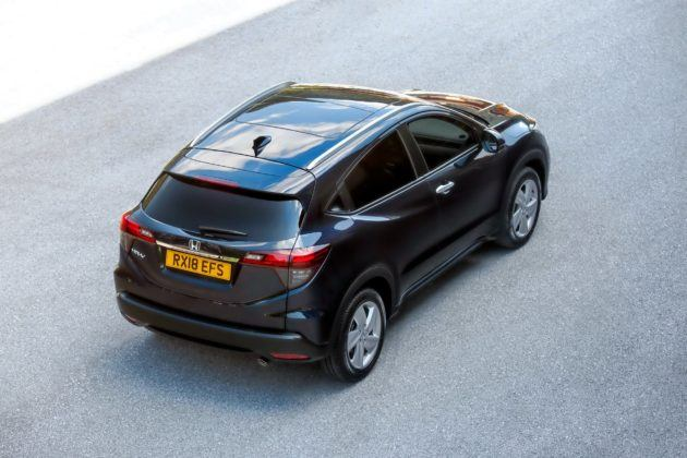 Honda HR-V po liftingu (2019)