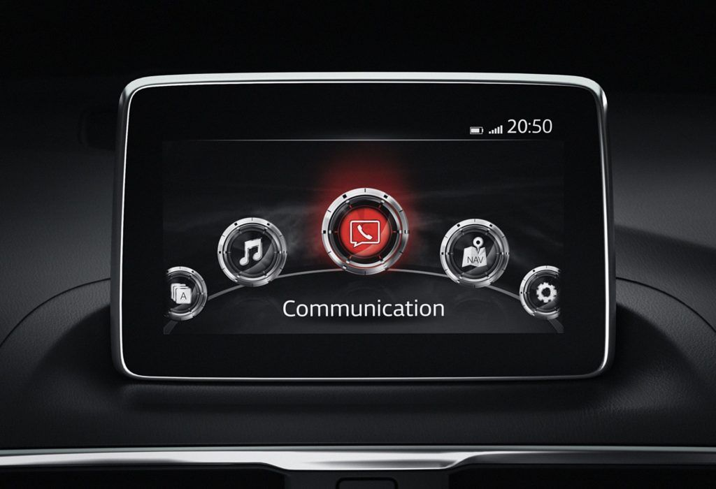 Mazda - system multimedialny MZD Connect