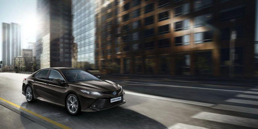 Toyota Camry Hybrid XV70 (2019) - wersja europejska