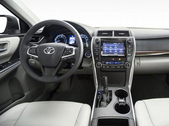 Toyota Camry XV50 (2014-2017) - wersja po liftingu