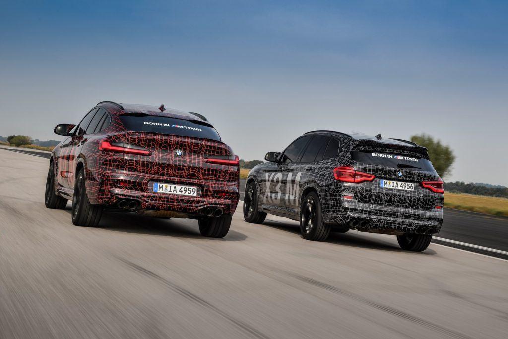 Nowe BMW X3 M oraz X4 M (2019)