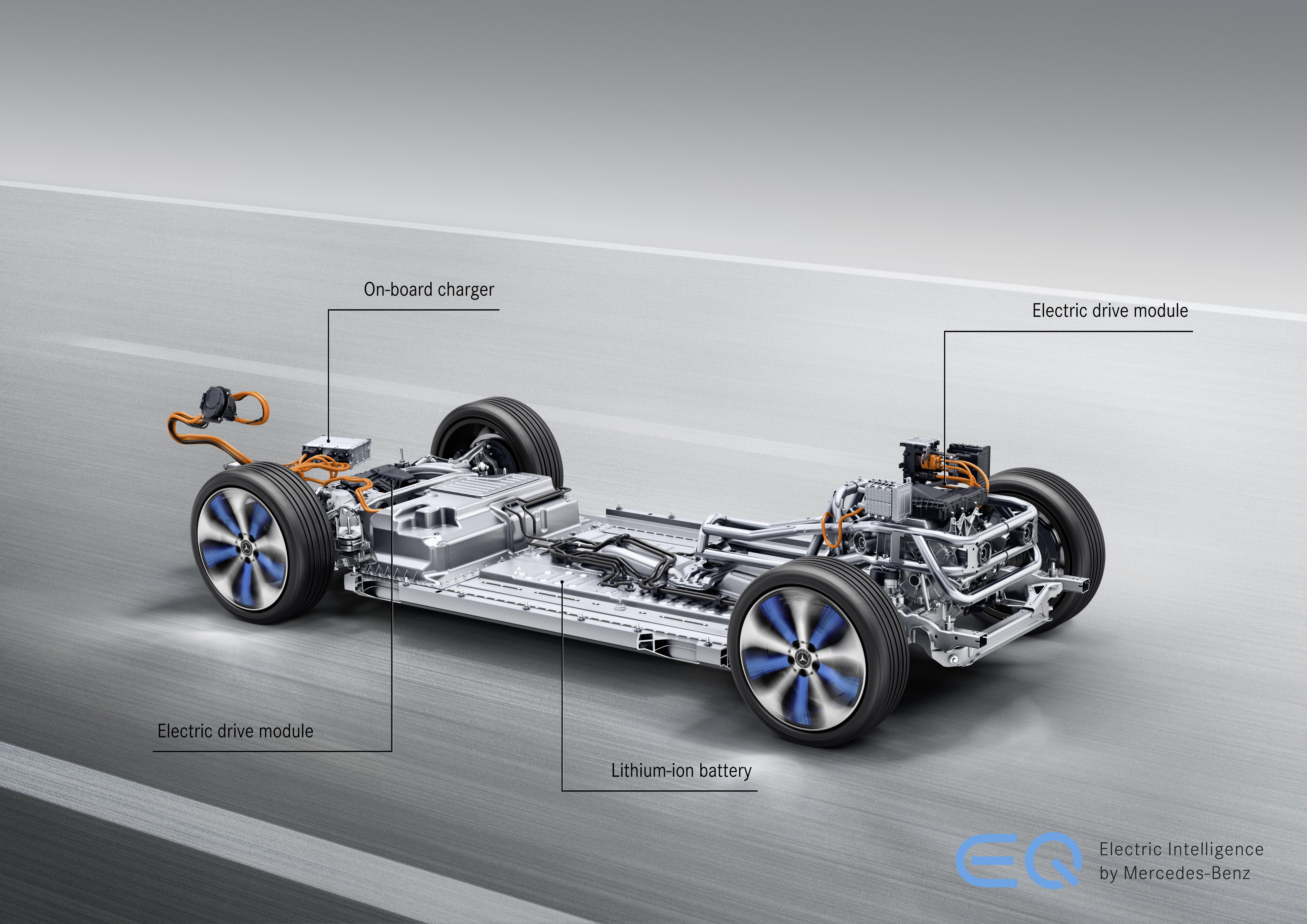 Mercedes EQC - konstrukcja