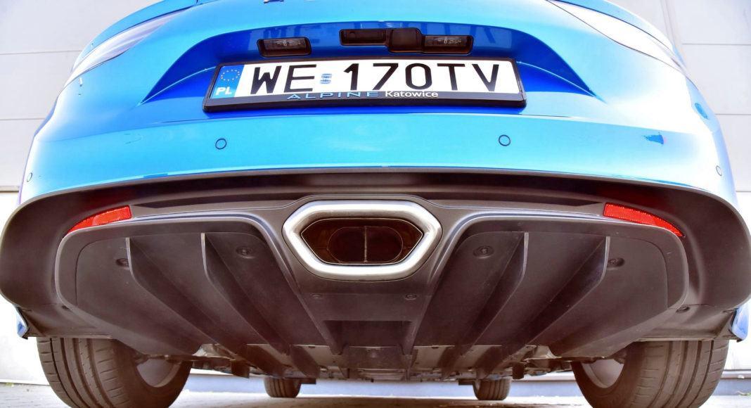 Alpine A110- osłona