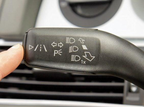 Audi A6 C6 - asystent pasa ruchu