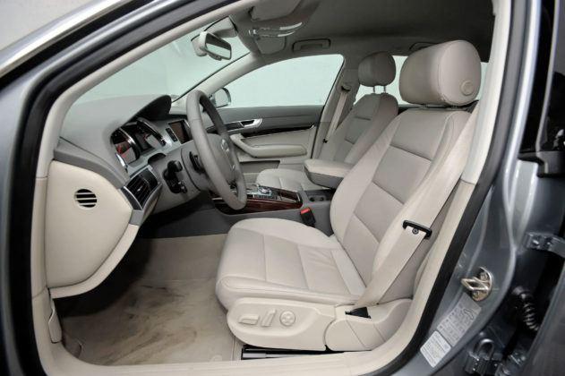 Audi A6 C6 - fotel kierowcy