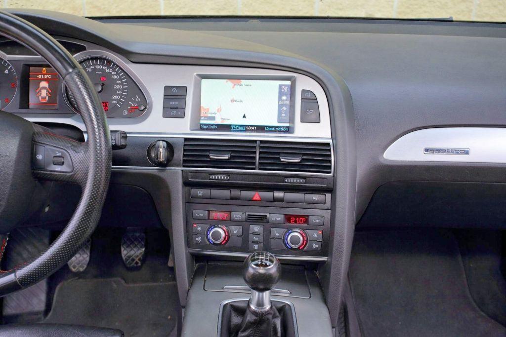 Audi A6 C6 - nawigacja