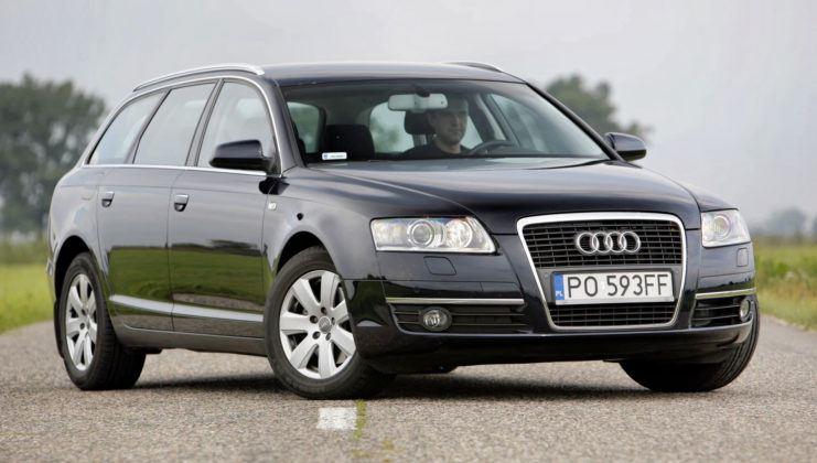 Audi A6 C6 - przód