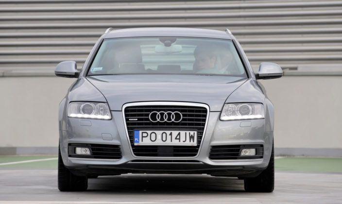 Audi A6 C6 - przód FL