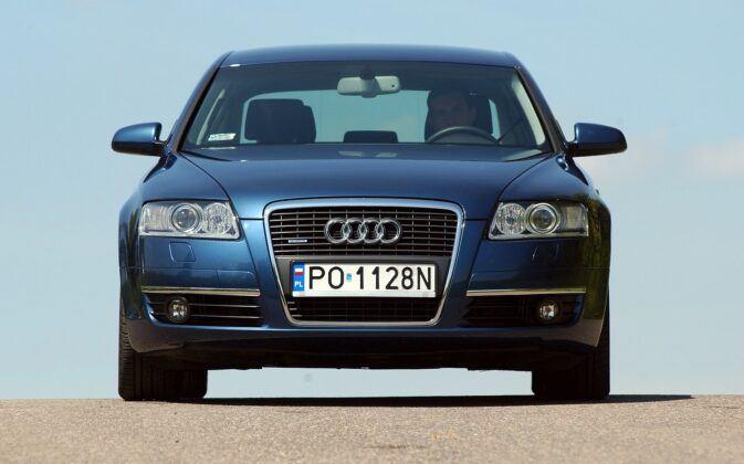 AUDI A6 C6 3.0TDI V6 224KM 6AT Tiptronic Quattro PO1128N 06-2004