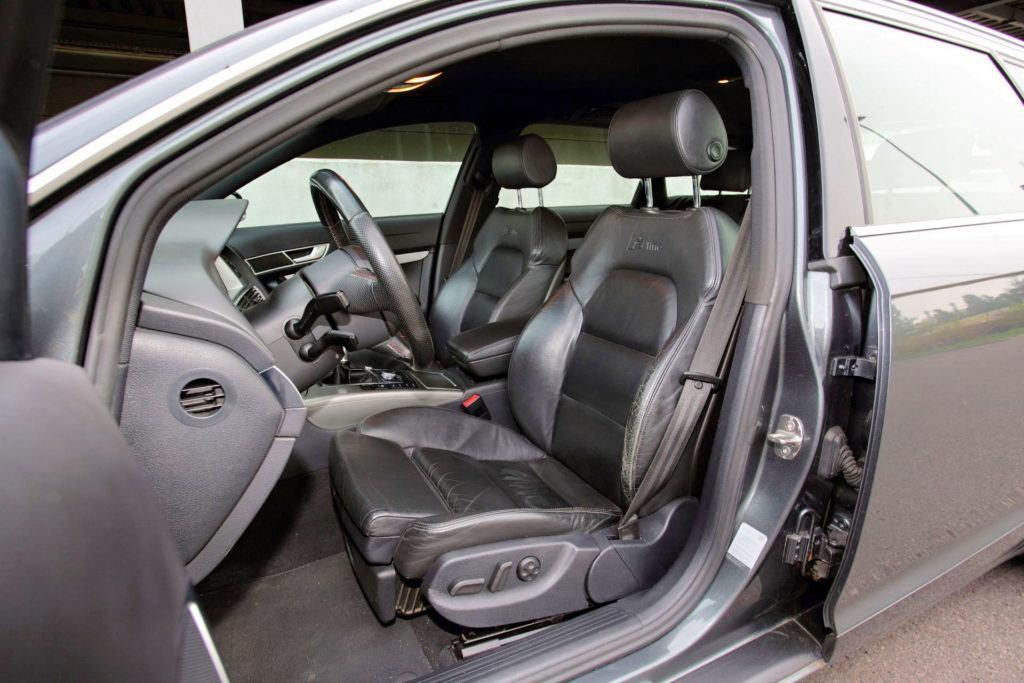 Audi A6 C6 - skórzane fotele