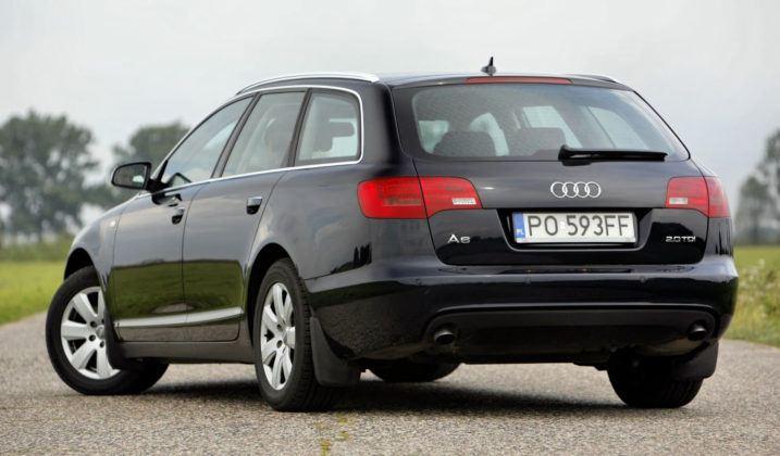 Audi A6 C6 - tył