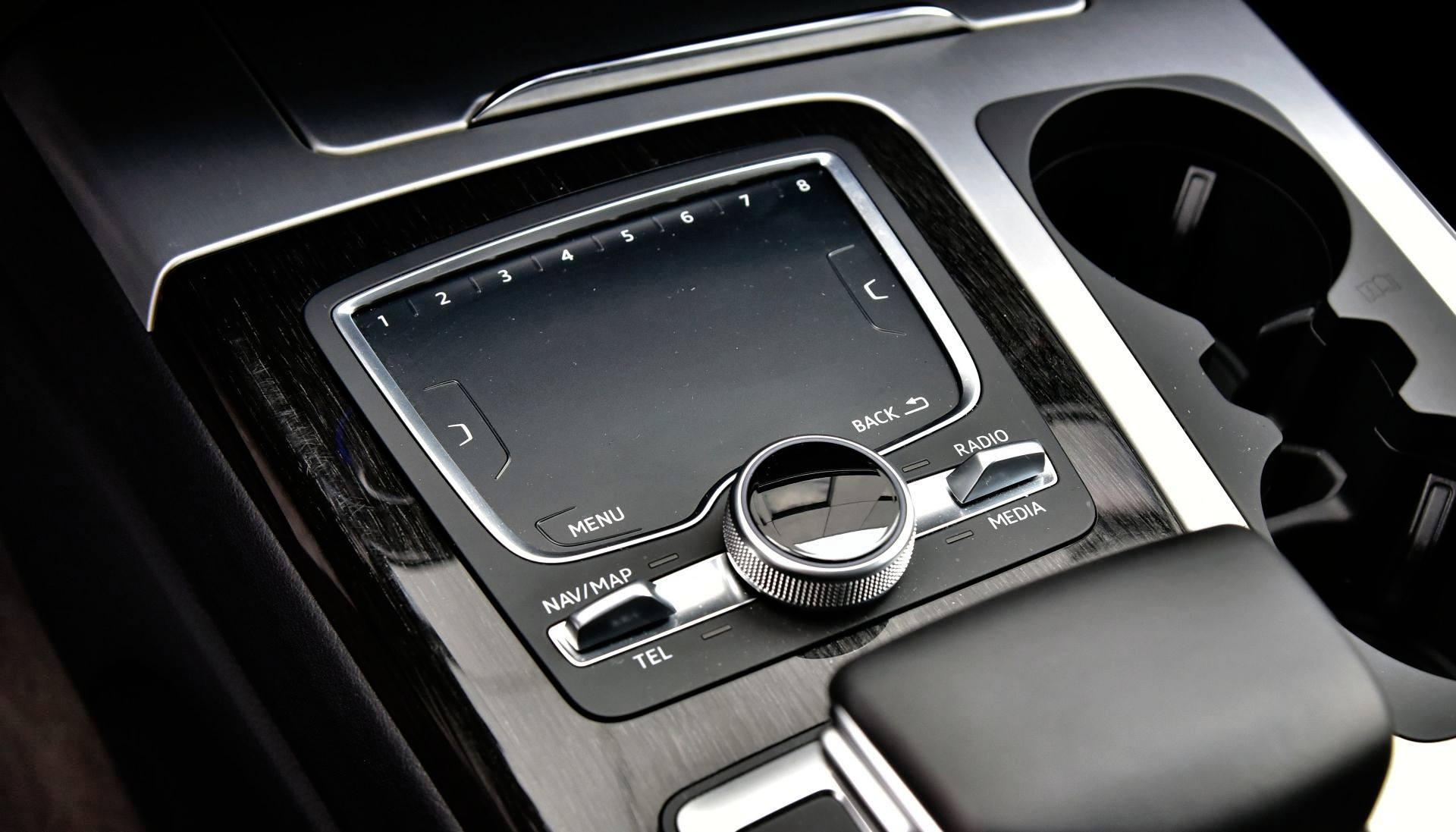 Audi Q7 - pokrętło