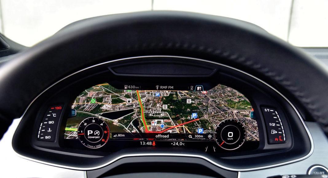 Audi Q7 - wskaźniki