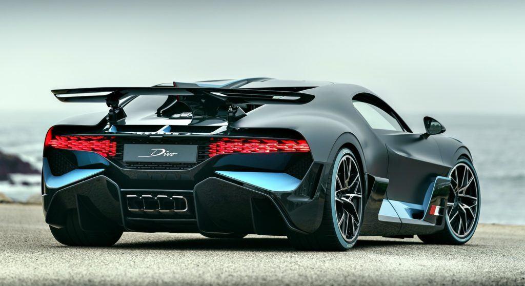 Bugatti Divo - tył