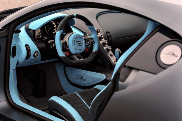 Bugatti Divo - wnętrze