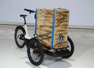 Cargo e-Bike. Elektryczny rower Volkswagena
