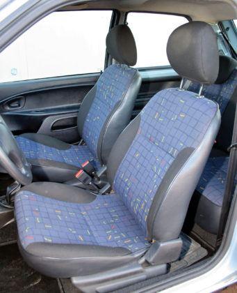 Citroen Saxo - fotel kierowcy