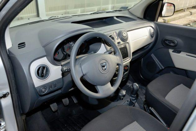 Dacia Dokker Van - deska rozdzielcza