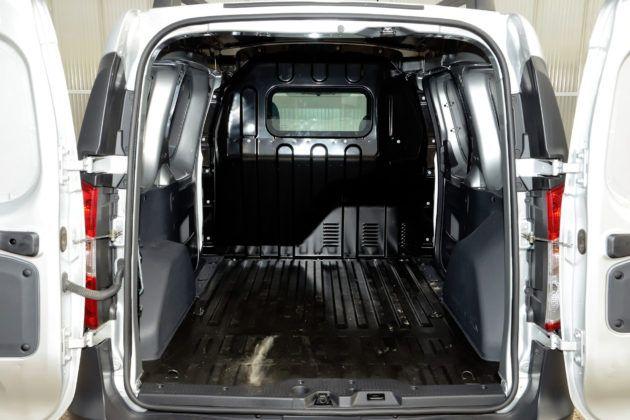 Dacia Dokker Van - przestrzeń ładunkowa