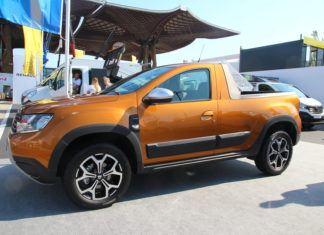 Dacia Duster Pickup. Prototyp efektownej półciężarówki