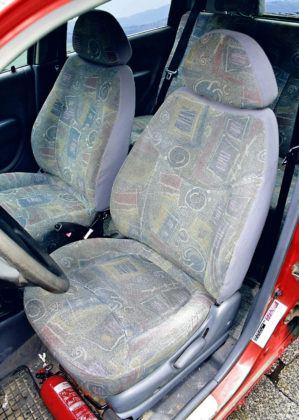 Daewoo Matiz - fotel kierowcy