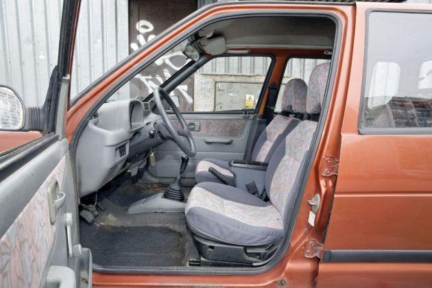 Daewoo Tico - fotel kierowcy
