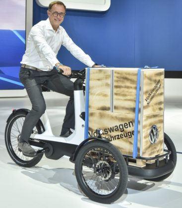 Dostawczy rower Volkswagena