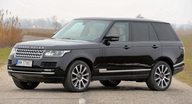 Duże SUV-y - Range Rover