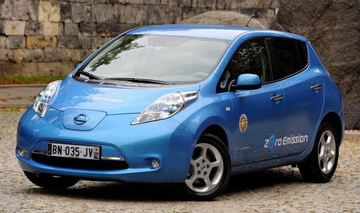 Elektryczne - Nissan Leaf