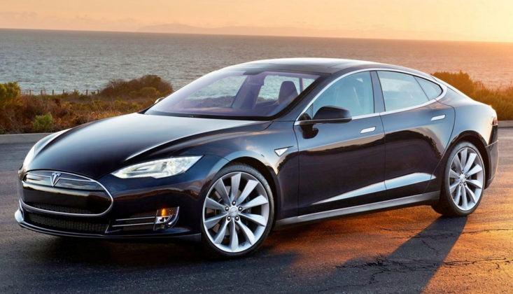 Elektryczne - Tesla Model S