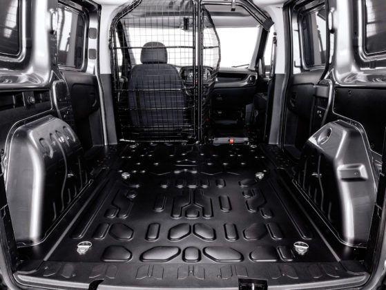 Dostawczy Fiat Doblo - przestrzeń ładunkowa