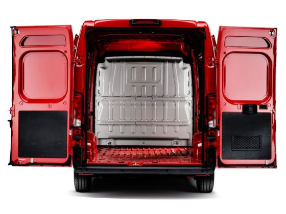 Fiat Ducato - przestrzeń ładunkowa