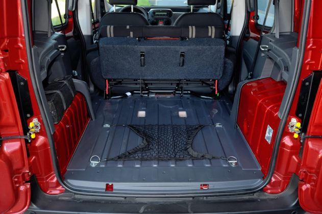 Fiat Fiorino - przestrzeń ładunkowa