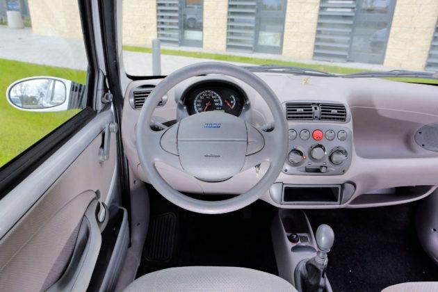 Fiat Seicento - deska rozdzielcza