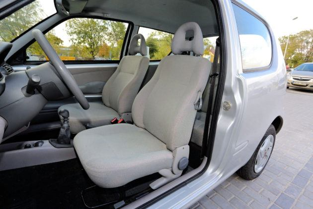 Fiat Seicento - fotel kierowcy