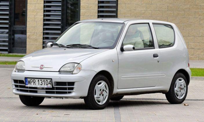 Fiat Seicento - przód