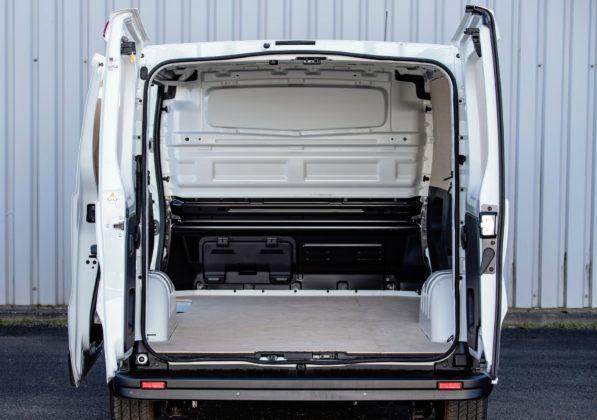 Fiat Talento - przestrzeń ładunkowa
