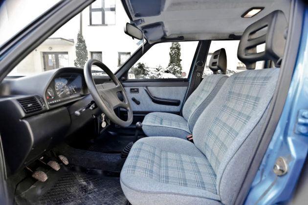 Fiat Uno - fotel kierowcy