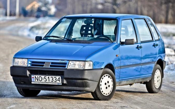 Fiat Uno - przód