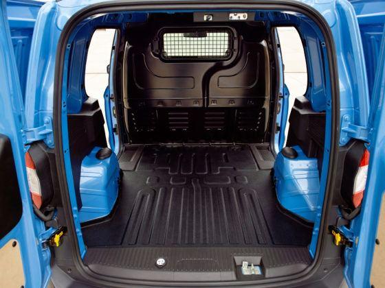 Ford Transit Courier - przestrzeń ładunkowa