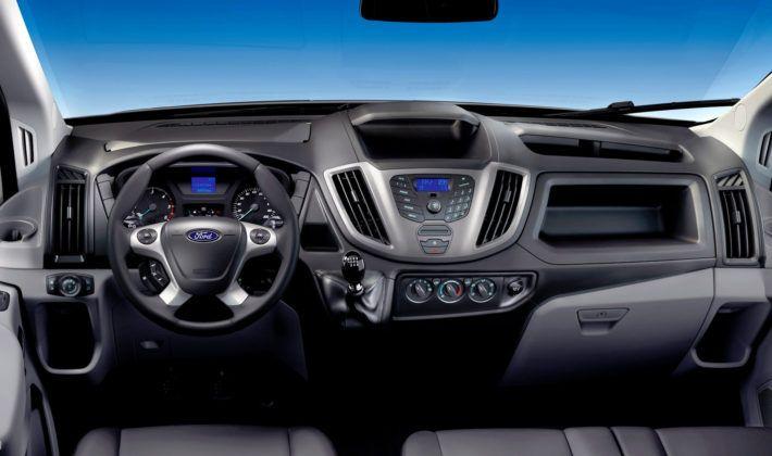Ford Transit - deska rozdzielcza
