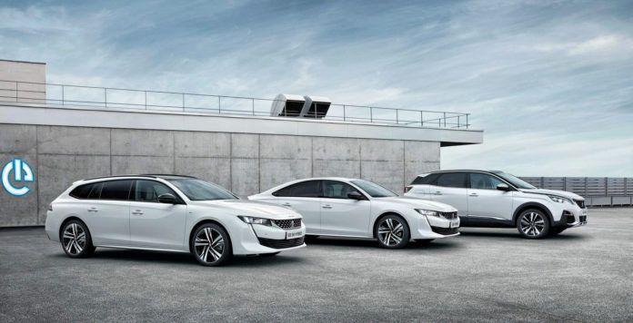 Hybrydowe Peugeoty - otwierające
