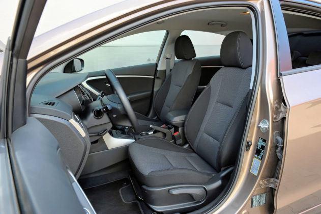 Hyundai i30 II - fotel kierowcy
