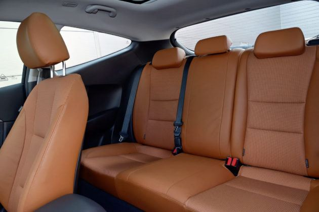 Hyundai i30 II - tylna kanapa 3d