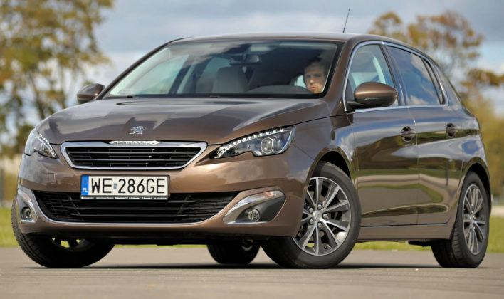 Kompakty - Peugeot 308
