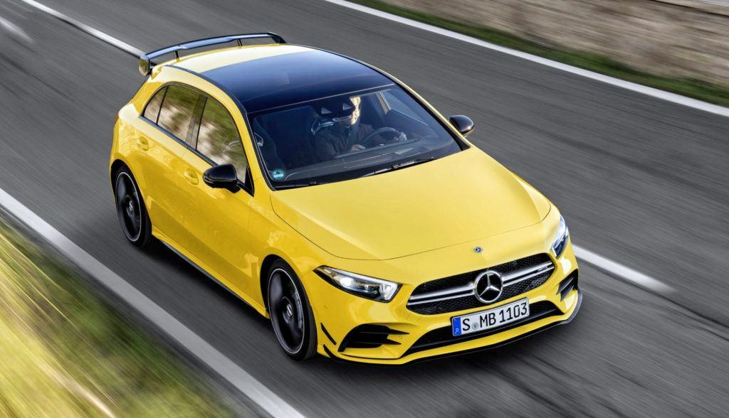 Mercedes-AMG A 35 - dynamiczne