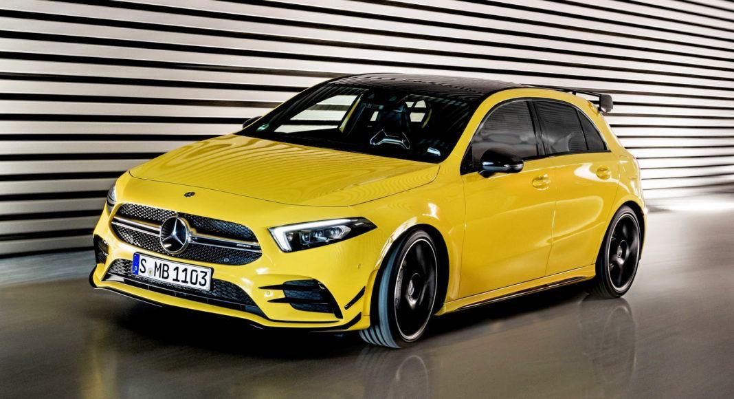 Mercedes-AMG A 35 - otwierające